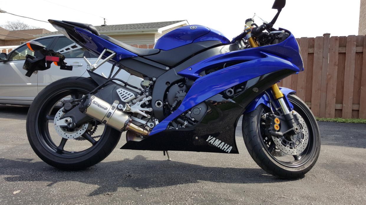2009 Yamaha Fzr1000 A