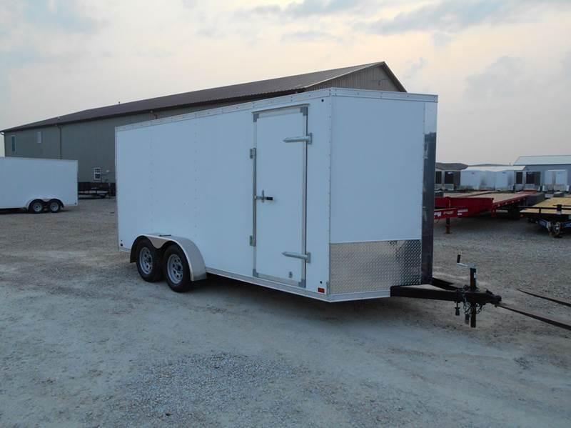 2016 Cross 16x7 Extra Tall Enclosed Trailer