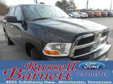 2010 DODGE RAM 1500 4 DOOR CREW CAB SHORT BED TRUCK