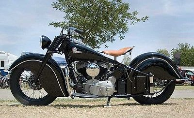 Indian : Chief 1946 indian chief project original matching number bike