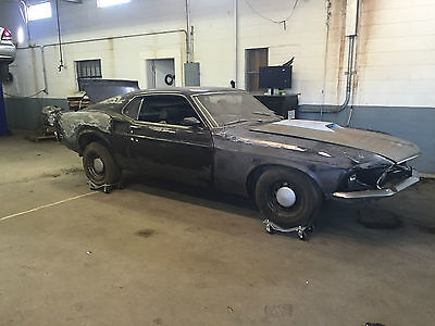 Ford : Mustang Mach 1, Shelby, Fastback, Cobra, GT500 1969 mustang fastback mach 1 clone shelby saleen cobra