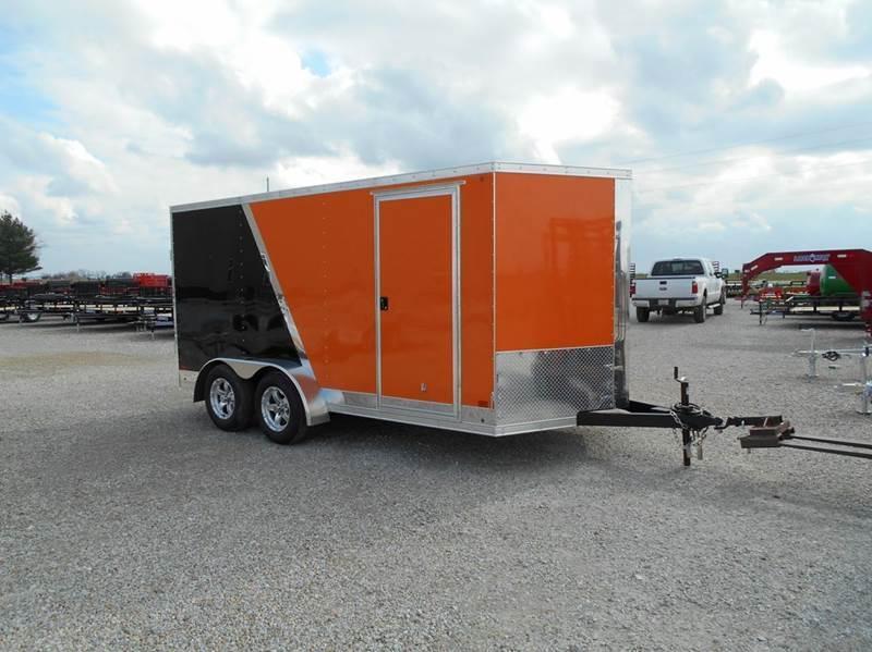 2016 Cross 14x7 Enclosed Cargo Trailer....SHARP!!