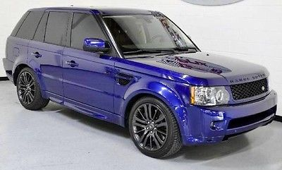Land Rover : Range Rover Sport SuperCharged SC 2011 land rover range rover sport supercharged bali blue loaded