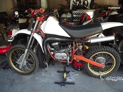 Can-Am 83 can am bombardier lc mx 250 motorcycle vintage motocross mx ahrma bike fox