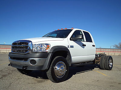 Dodge : Ram 5500 Cab and Chassis 2008 4 wd dodge ram 5500 sterling bullet crew cab and chassis dually make offer
