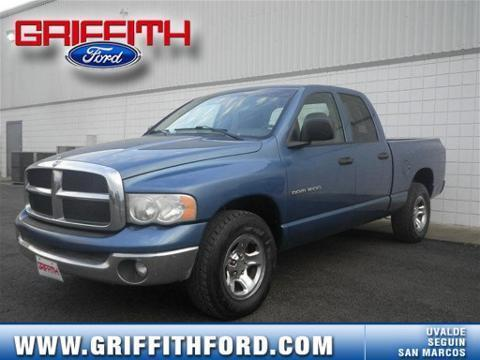 2005 DODGE RAM 1500 4 DOOR CREW CAB TRUCK