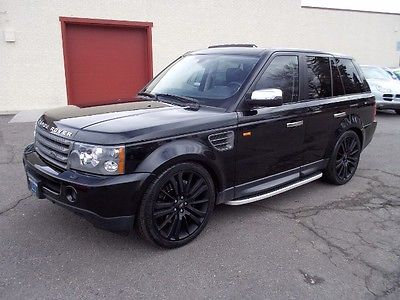 Land Rover : Range Rover Sport Supercharged 2007 land rover range rover sport supercharged