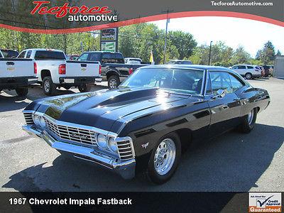 Chevrolet : Impala 1967 impala fastback prostreet tubbed big block chevy bbc front back halfed, 2