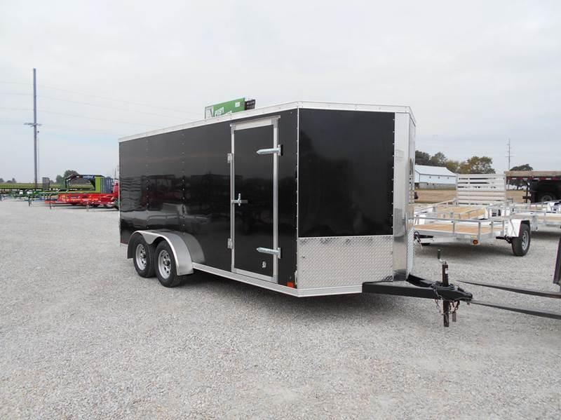 2016 Cross 16x7 Enclosed Trailer