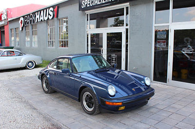 Porsche : 911 Carrera Coupe 2-Door Rare COA Paint to Sample and Meticulously Restored Low Miles 911 Carrera G50