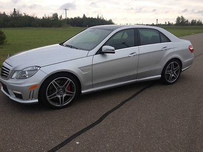 Mercedes-Benz : E-Class E63 AMG BI-TURBO 2012 mercedes benz e 63 amg 5.5 l twin turbo performance package w 4780 miles mint