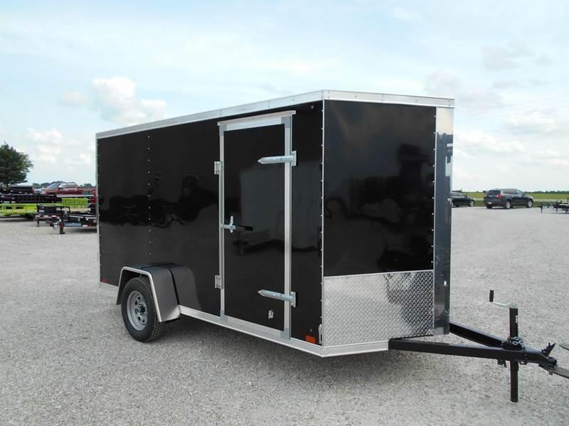 2016 Cross 12'x6' Trailer Enclosed Cargo Single Axle
