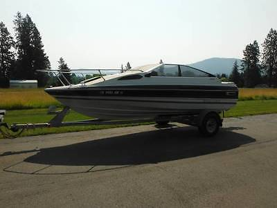 1987 19' bayliner capri with cubby cabin