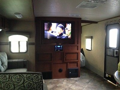 Used 2013 camper travel trailer solaire  eclipse 269BHDSK travel trailer