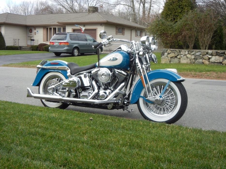 harley springer heritage wide glide massachusetts motorcycles dyna davidson 2007