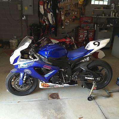 Suzuki : GSX-R 2008 suzuki gsxr 750 vesrah full race build