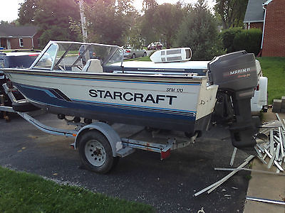 1992 Starcraft SFM 170 17 FT Aluminum boat only
