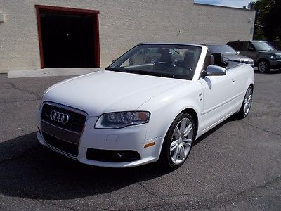 Audi : S4 Cabriolet with Tiptronic 2008 audi s 4 cab only 55 k miles