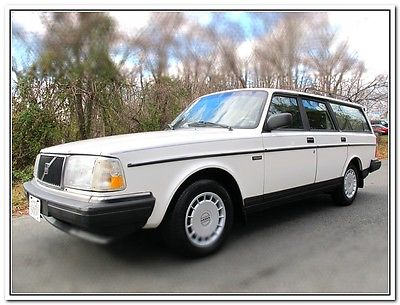 Volvo : 240 245 SE 1991 volvo 245 se 78 k miles 7 passenger one owner from hawaii