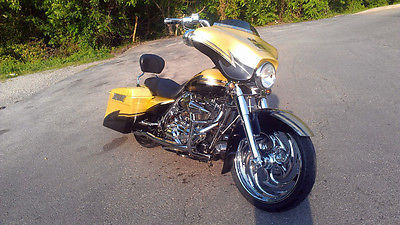 Harley-Davidson : Touring 2007 harely davidson custom street glide ac dc for those about to rock tribute