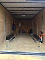 2016 Freedom Enclosed Cargo V-Nose Trailer with E-Track Radial Tires 8.5x20