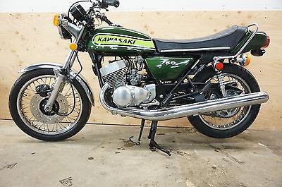 Kawasaki : Other 1974 kawasaki h 2 widow maker h 2750 750 cc clean very stock