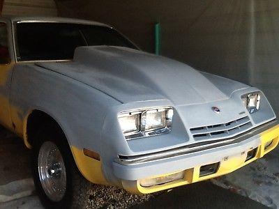 Chevrolet : Other 1975 chevy monza hatch back pro street fresh blueprint 355