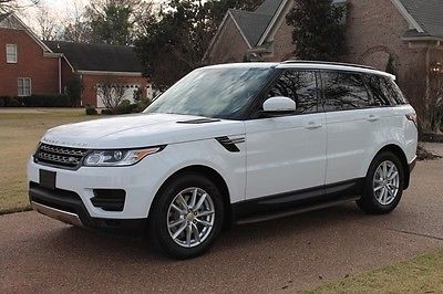 Land Rover : Range Rover Sport One Owner Perfect Carfax Low Miles Best Color Factory Warranty Remaining