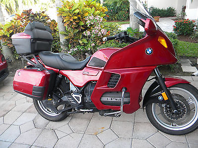 BMW : K-Series 1996 k 1100 lt red with 45132 miles
