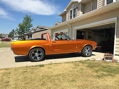 Ford : Mustang Shelby GT-350 1967 shelby gt 350 convertible recreation