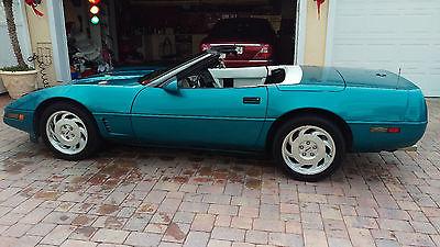 Chevrolet : Corvette 1993 chevrolet corvette