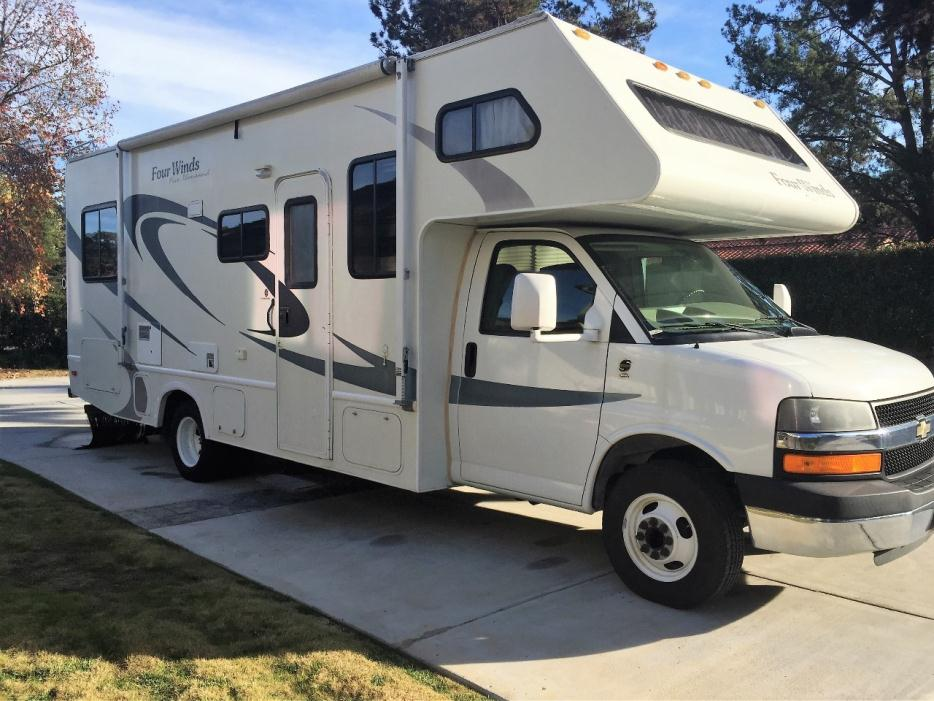 thor four winds five thousand rvs for sale in california. Black Bedroom Furniture Sets. Home Design Ideas
