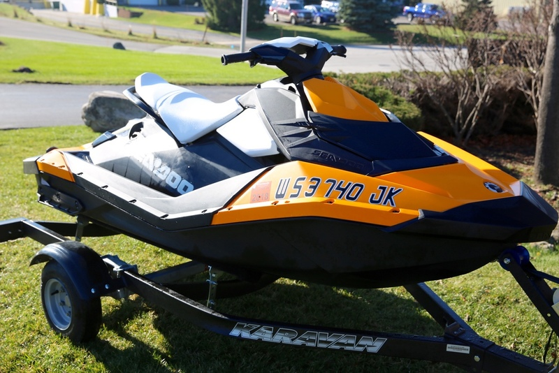 2015 Sea-Doo Spark 2up IBR ROTAX 900 HO ACE Convenien