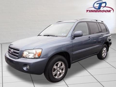 2006 TOYOTA HIGHLANDER 4 DOOR SUV