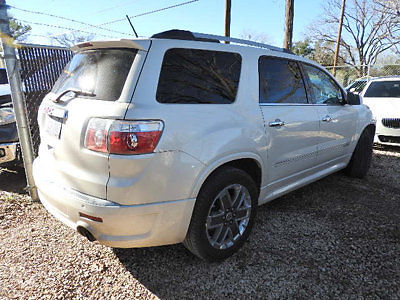 GMC : Acadia FWD 4dr Denali FWD 4dr Denali SUV Automatic Gasoline 3.6L V6 Cyl WHITE