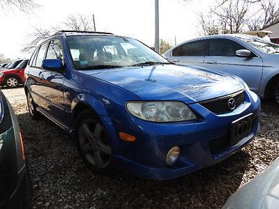 Mazda : Protege 5DR WGN MT 5 dr wgn mt 4 dr manual gasoline 2.0 l 4 cyl blue