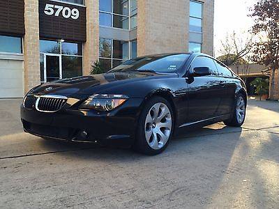 BMW : 6-Series COUPE 2004 bmw 6 series coupe bmw 645 clean low miles