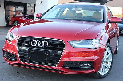 Audi : A4 Premium Plus 2014 audi a 4 premium plus s line turbo warranty 1 owner clean car fax