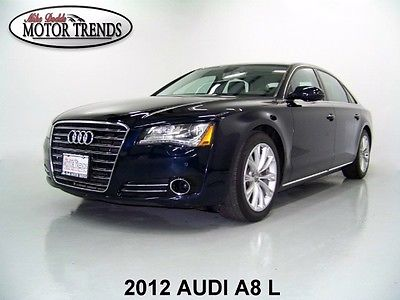 Audi : A8 1 OWNER ALL WHEEL DRIVER LONG WHEEL BASE 2012 audi a 8 l quattro awd navi sunroof cold weather driver assist pkg 35 k