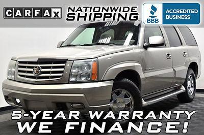 Cadillac : Escalade AWD LOADED AWD V8 NAVIGATION DVD LEATHER SUNROOF 3RD ROW 4X4 TRUCK SUV
