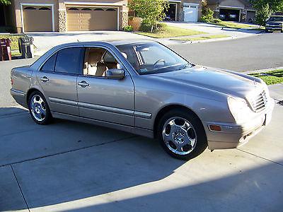 Mercedes-Benz : E-Class Base Sedan 4-Door 2002 mercedes benz e 430 base sedan 4 door 4.3 l