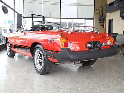 MG : MGB 2 Dr Convertible 1976 mg mgb