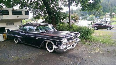Cadillac : Fleetwood 1958 cadillac slammed