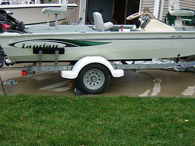 2001 Landau 17' Aluminum Bass Fishing Boat--VG/EXCELLENT CONDITION