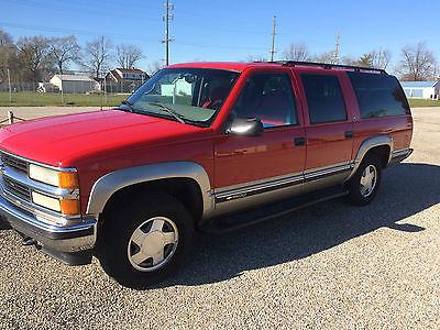 Chevrolet : Suburban LS Sport Utility 4-Door 1999 chevrolet k 1500 suburban ls sport utility 4 door 5.7 l excellent