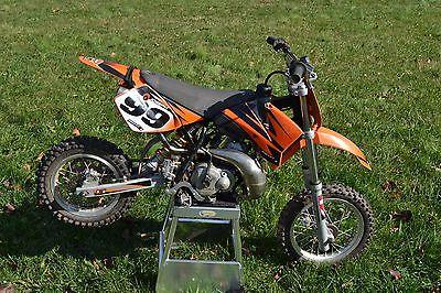 KTM : SX 2008 ktm 50 sx motorcycle dirtbike with upgrades