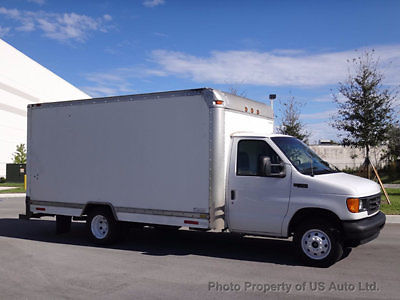 Ford : E-Series Van E450 Box Truck 2003 ford e 450 15 ft box truck 7.3 l turbo diesel one owner clean carfax fl van