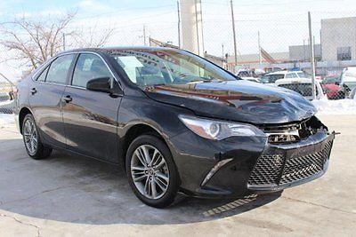 Toyota : Camry SE Sedan 2015 toyota camry se damaged rebuilder economical only 27 k miles export welcome