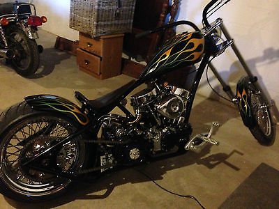 Harley-Davidson : Other 1953 harley davidson panhead custom chopper hot rod classic collector prostreet