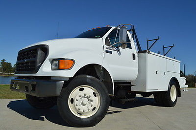 Ford : Other XL 2001 ford f 650 regular cab xl 13 ft utility bed 5.9 l cummins